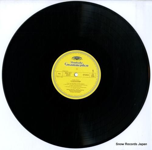 BOHM, KARL mahler; kindertotenlieder MGX7077 - disc