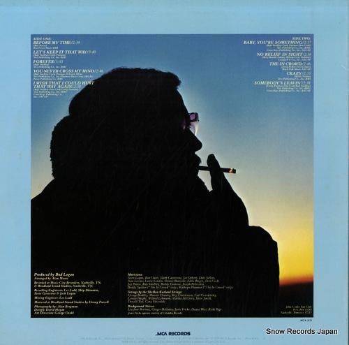 CONLEE, JOHN forever MCA-3174 - back cover