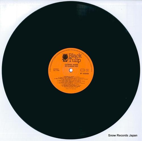 JONES, GEORGE 20 greatest hits BT555020 - disc