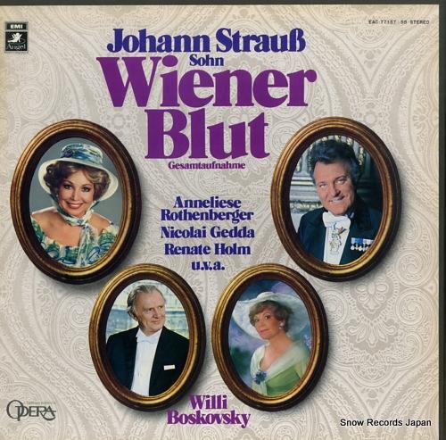 BOSKOVSKY, WILLI j.strauss; wiener blut EAC-77157-58 - front cover