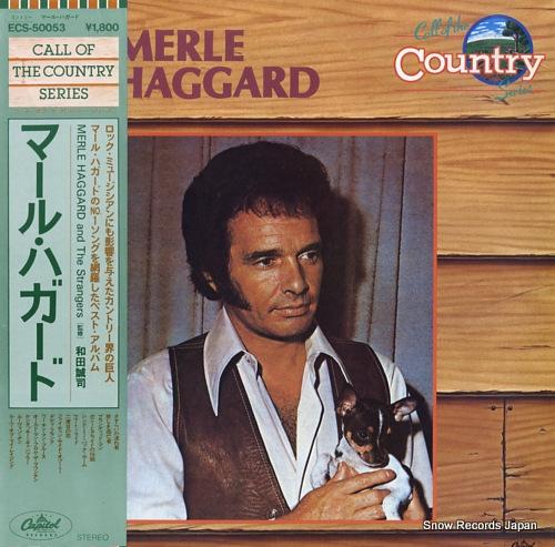 HAGGARD, MERLE merle haggard ECS-50053 - front cover