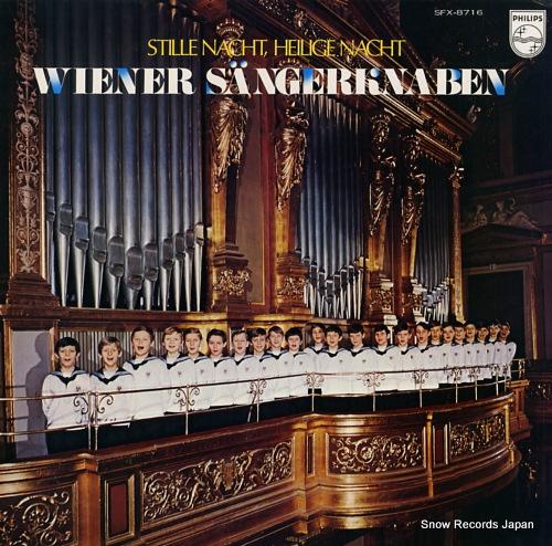 WIENER SANGERKNABEN stille nacht heilige nacht SFX-8716 - front cover