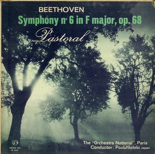 KLETZKI, PAUL beethoven; symphony n 6 in f major, op.68 M.2239 - front cover