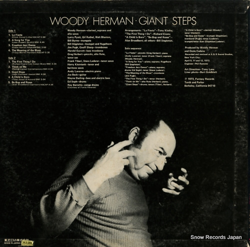 HERMAN, WOODY giant steps LFP-88134 - back cover