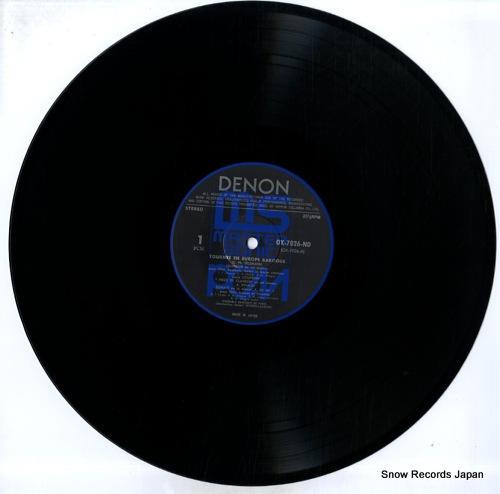 ENSEMBLE BAROQUE DE PARIS tournee en europe baroque OX-7026-ND - disc