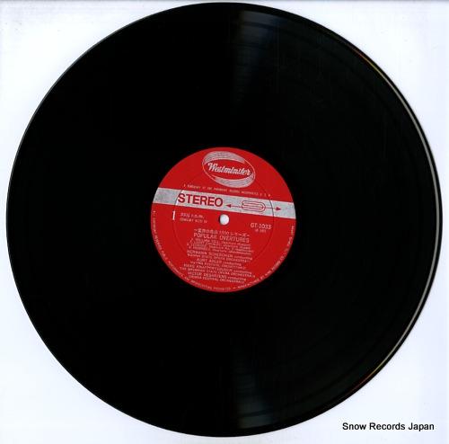 V/A popular overtures GT-1033 - disc