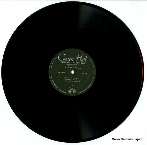 PERLEMUTER, VLADO chopin recital M.2223 - disc