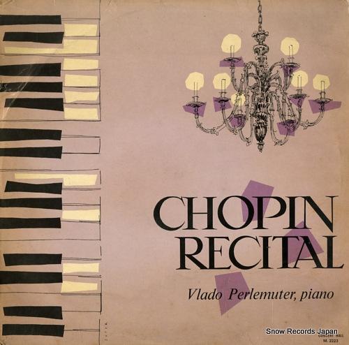 PERLEMUTER, VLADO chopin recital M.2223 - front cover