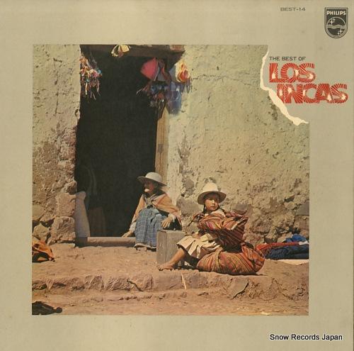 LOS INCAS the best of los incas BEST-14 - front cover