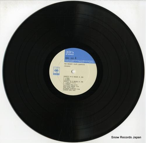 RAMPAL, JEAN-PIERRE mozart; flute quartets (complete) SOCL1021 - disc