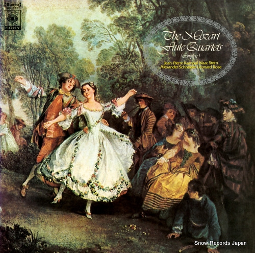 RAMPAL, JEAN-PIERRE mozart; flute quartets (complete) SOCL1021 - front cover