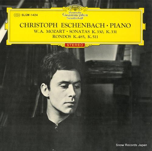 ESCHENBACH, CHRISTOPH mozart; sonatas k.330, k.331 SLGM-1424 - front cover