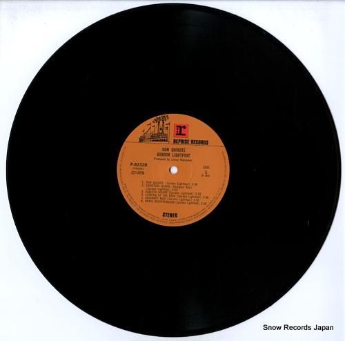 LIGHTFOOT, GORDON don quixote P-8232R - disc