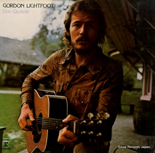 LIGHTFOOT, GORDON don quixote P-8232R - front cover