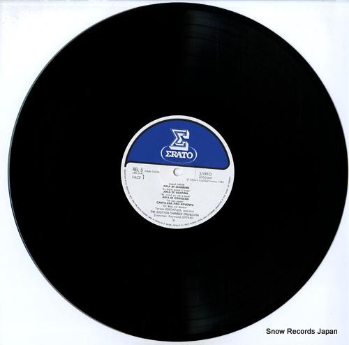 BERGANZA, TERESA joseph haydn REL-5 - disc