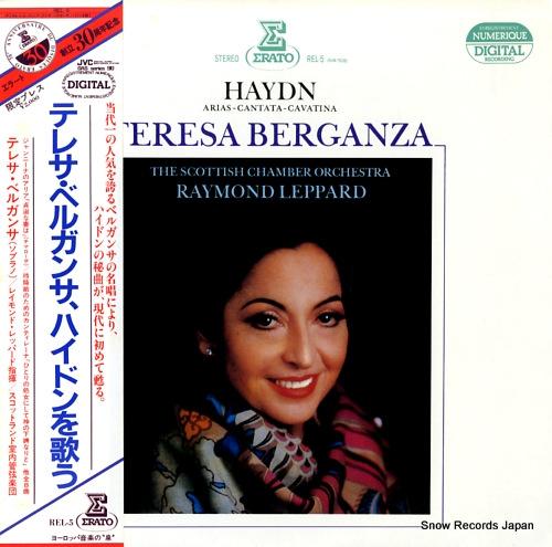BERGANZA, TERESA joseph haydn REL-5 - front cover