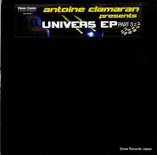 CLAMARAN, ANTOINE univers ep part 3 FINETUNE004 - front cover