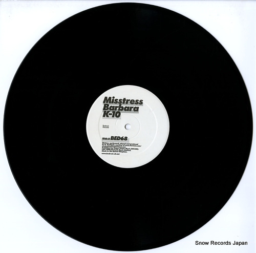 BARBARA, MISSTRESS k-10 BED68 - disc