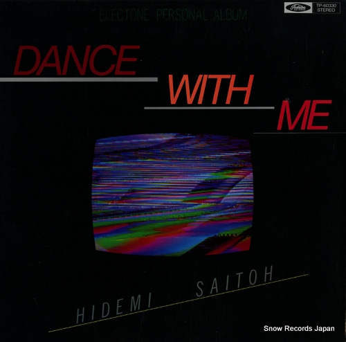 SAITOH, HIDEMI dance with me TP-60330 - front cover
