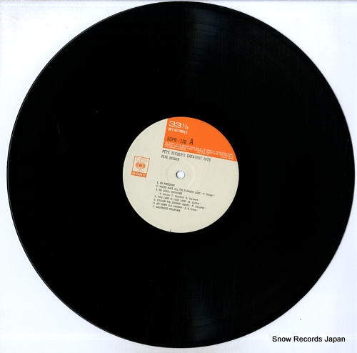SEEGER, PETE pete seeger's greatest hits SOPN120 - disc