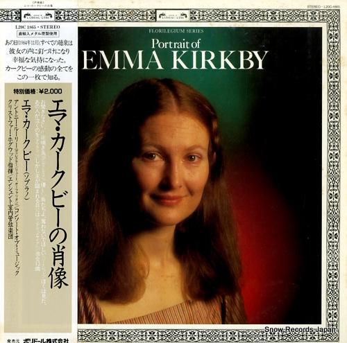 KIRKBY, EMMA portrait of emma kirkby L20C1865 - front cover