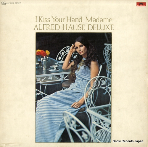 HAUSE, ALFRED i kiss your hand,madame MP2209 - front cover