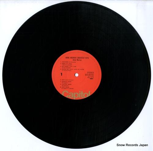 MURRAY, ANNE anne murray greatest hits ECS-80793 - disc