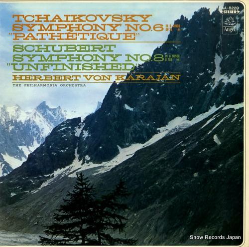 KARAJAN, HERBERT VON tchaikovsky; symphony no.6 in b minor, op.74