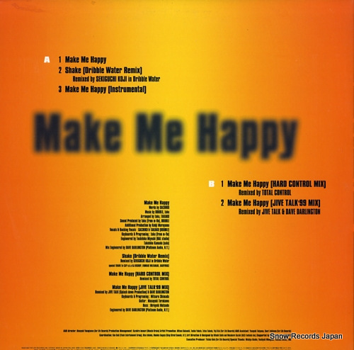 DOUBLE make me happy DBL-0003 - back cover