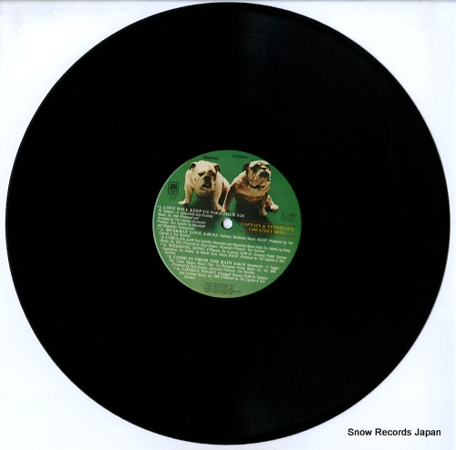 CAPTAIN AND TENNILLE captain & tennille's greatest hits SP-4667 - disc