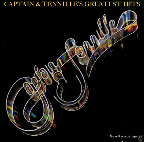 CAPTAIN AND TENNILLE captain & tennille's greatest hits SP-4667 - front cover