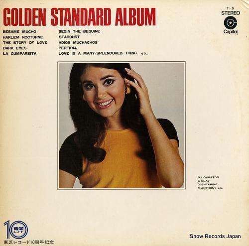 V/A golden standard album T-5 - front cover