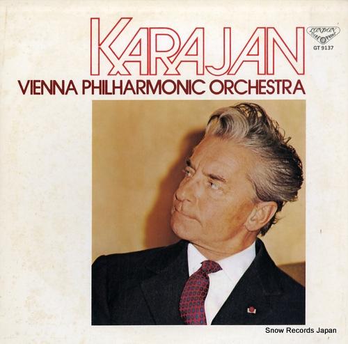 KARAJAN, HERBERT VON puccini; tosca-hightlights GT9137 - front cover
