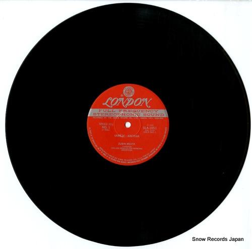 MEHTA, ZUBIN arcana (music of varese) SLA1051 - disc