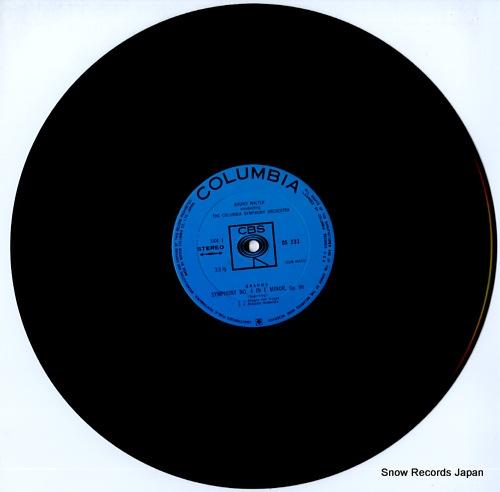 WALTER, BRUNO brahms; symphony no.4 OS-233 - disc
