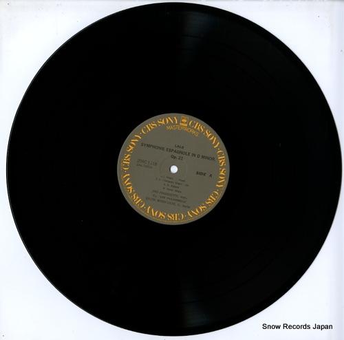 FRANCESCATTI, ZINO lalo; symphonie espagnole 20AC1518 - disc