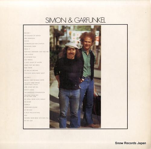 SIMON AND GARFUNKEL golden grand prix 30 40AP451-2 - back cover