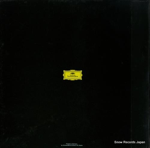 BOHM, KARL berg; wozzeck 2707023 - back cover