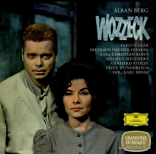 BOHM, KARL berg; wozzeck 2707023 - front cover
