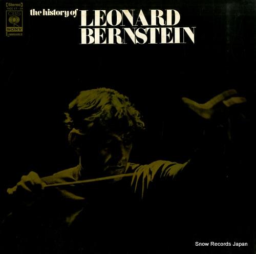 BERNSTEIN, LEONARD the history of leonard bernstein YACC17-18 - front cover