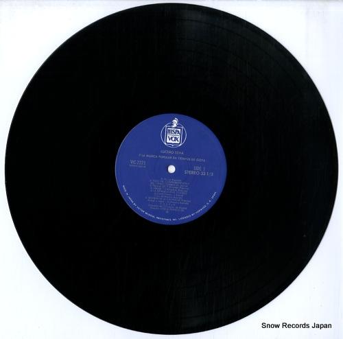 TENA, LUCERO y la musica poplar en tiempos de goya VIC-2221 - disc