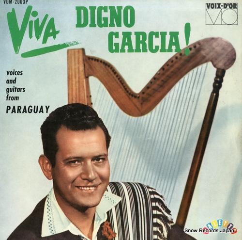 ディグノ・ガルシア ギターと歌とインディアン・ハープ VOM-2003P