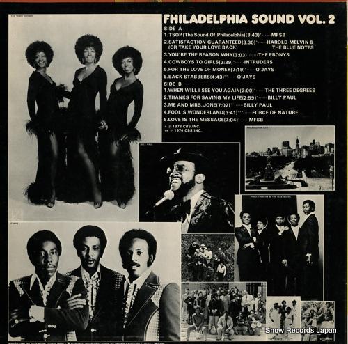 V/A philadelphia sound vol.2 ECPM-85-PH - back cover