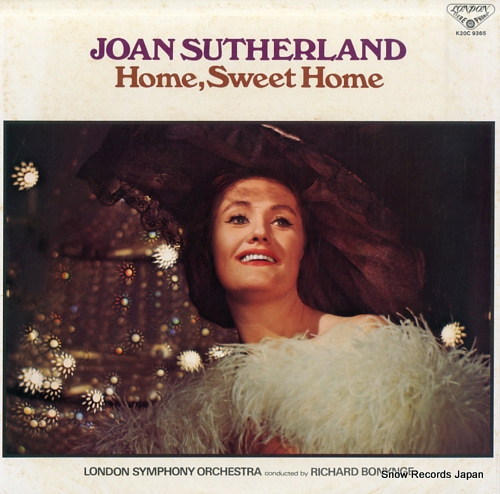SUTHERLAND, JOAN home, sweet home K20C-9365 - front cover