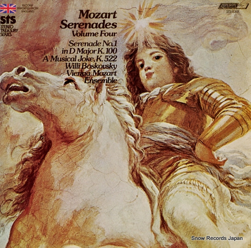 BOSKOVSKY, WILLI mozart; serenades volume four STS15301 - front cover