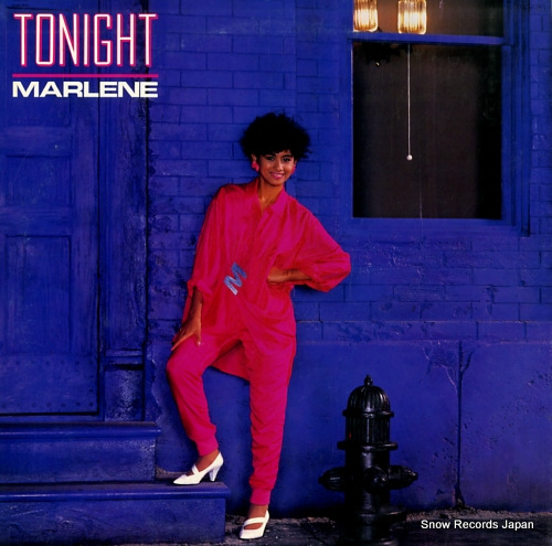 MARLENE tonight 12AH1815 - front cover