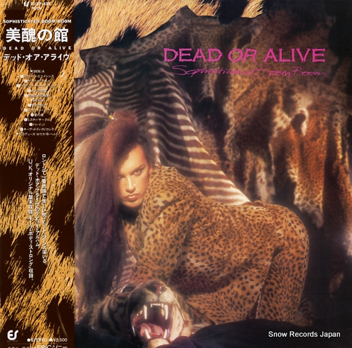 DEAD OR ALIVE sophisticated boom boom 25.3P-499 - front cover