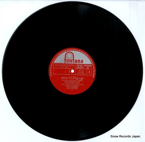 BOHM, KARL mozart; requiem FG-50 - disc