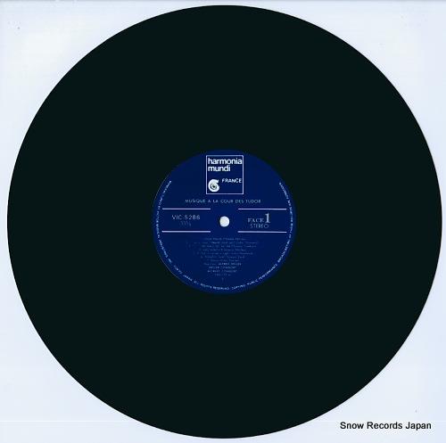 DELLER CONSORT / MORLEY CONSORT tudor music VIC-5286 - disc