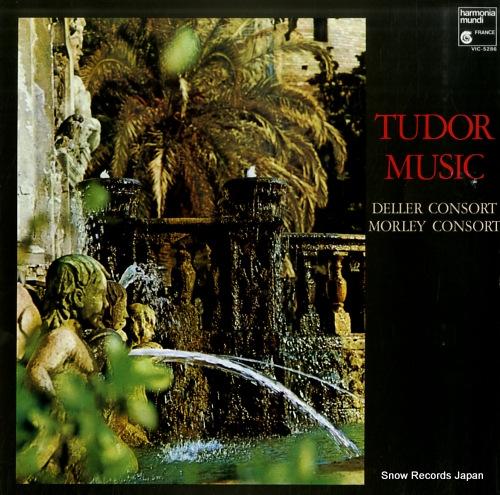 DELLER CONSORT / MORLEY CONSORT tudor music VIC-5286 - front cover